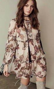 Tiered Santa Rosa Mini Dress